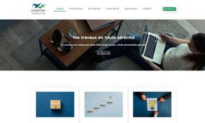 Réalisation du site internet courtiertravaux72.com par S404 Solution404