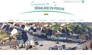 Réalisation du site de la commune de Rémalard en Perche par S404 Solution404